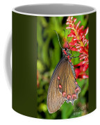 Pink Rose Butterfly Coffee Mug
