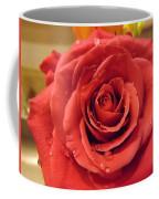 Pink Rose Drops Coffee Mug
