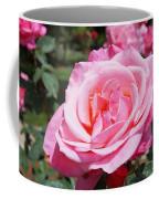 Pink Rose Flower Floral Art Prints Roses Coffee Mug