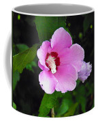 Pink Rose Of Sharon 2 Coffee Mug