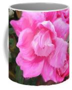 Pink Rose Painting  Coffee Mug