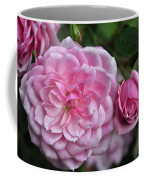 Pink Rose Petals Coffee Mug