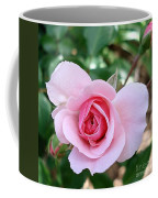 Pink Rose - Square Print Coffee Mug