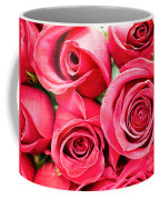 Pink Roses Flowers  Coffee Mug