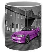 Pink Saab  Coffee Mug