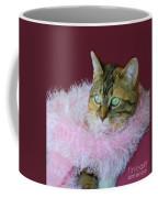 Pink Scarf Coffee Mug