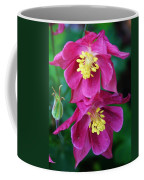 Pink Sensations Columbine Coffee Mug