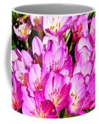 Pink Summer Blossoms Coffee Mug