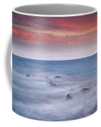 Pink Sunset At The Mediterranean Coffee Mug