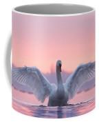 Pink Swan Coffee Mug