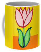 Pink Tulip Coffee Mug