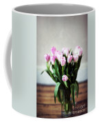 Pink Tulips In A Vase Coffee Mug