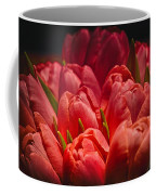 Fucshia Tulips Coffee Mug