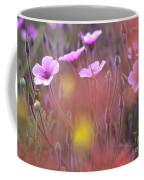 Pink Wild Geranium Coffee Mug