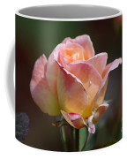 Pink Yellow Rose 01 Coffee Mug