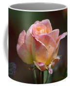 Pink Yellow Rose 01 Coffee Mug