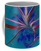 Pink Yucca Twist Coffee Mug