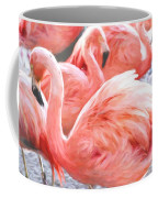 Pinked Flamingos Coffee Mug