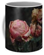 Pink Roses In The First Snow I V Coffee Mug