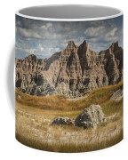 Pinnacles And Spires In The Badlands Coffee Mug