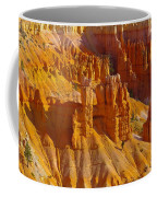 Pinnicles At Sunset Point Bryce Canyon National Park Coffee Mug by Jeff Swan