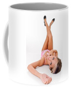 Pinup Girl's Legs Coffee Mug