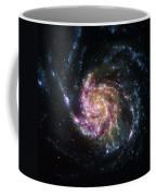 Pinwheel Galaxy Rainbow Coffee Mug