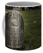 Pioneer Grave Coffee Mug by Jean Noren