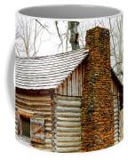 Pioneer Log Cabin Chimney Coffee Mug