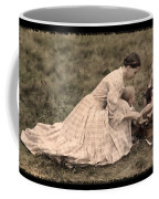 Pioneer Mother And Children Coffee Mug