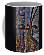 Pioneer Square Totem Pole Coffee Mug