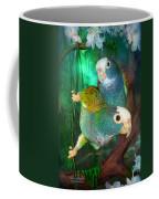 Pionus In Paradise Coffee Mug