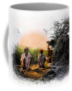 Pipe Smoking Ritual Chillum India Rajasthan 2 Coffee Mug