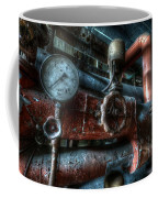 Pipes And Clocks Coffee Mug