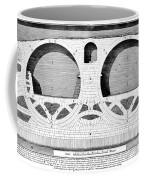 Piranesi: Ponte Fabrizio Coffee Mug