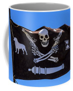 Pirate Flag With Skull And Pistols Coffee Mug
