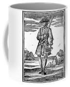 Pirate John Rackam, 1725 Coffee Mug