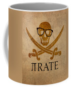 Pirate Math Nerd Humor Poster Art Coffee Mug