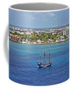 Pirate Ship In Cozumel Coffee Mug