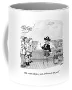Pirate With One Hand Asks For Help Lighting Coffee Mug