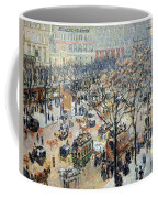 Pissarro's Boulevard Des Italiens In Morning Sunlight Coffee Mug