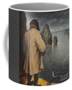 Pissing At The Moon  Coffee Mug by Pieter the Younger Brueghel
