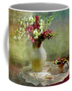 Pitcher Of Snapdragons Coffee Mug by Diana Angstadt