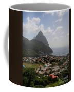 Pitons St. Lucia Coffee Mug