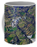 Pitres And Capilerilla From The Air Coffee Mug