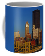 Pittsburg At Dusk Coffee Mug