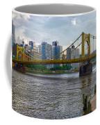 Pittsburgh Clemente Bridge Coffee Mug