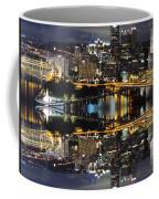 Pittsburgh Dusk Reflection 2 Coffee Mug