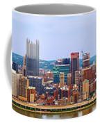 Pittsburgh From Grandview Coffee Mug