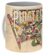 Pittsburgh Pirates Poster Art Coffee Mug